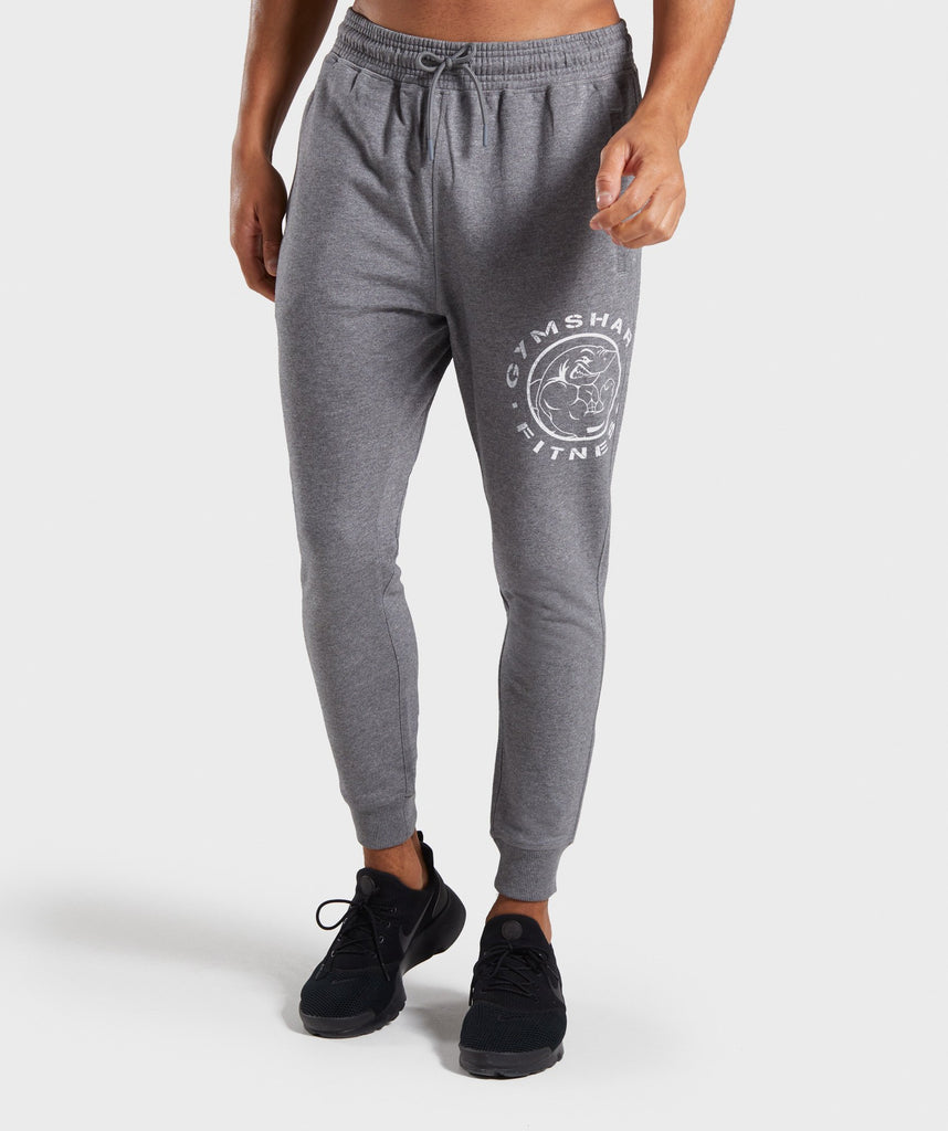 buy popular c77a4 b96ab Gymshark Legacy Plus Joggers - Grey 1