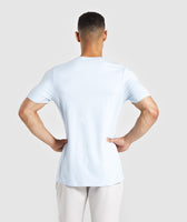 Gymshark Legacy T-Shirt - Light Blue 8