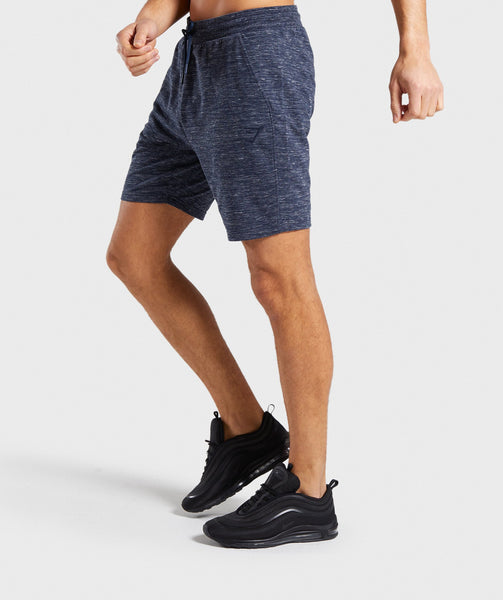 Gymshark Lounge Shorts - Navy Marl 2