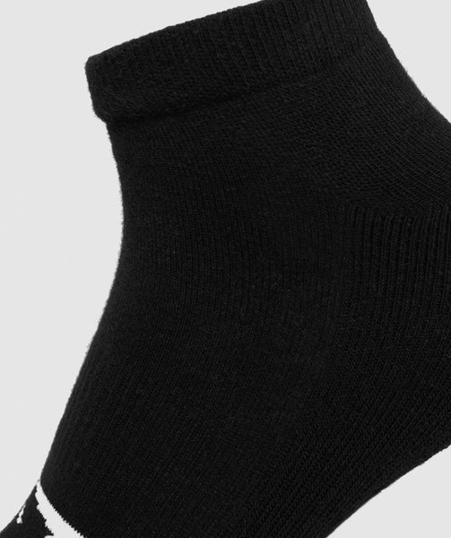 Gymshark Mens Trainer Socks (3pk) - Black 2