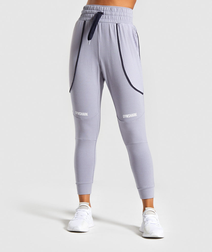 Gymshark Movement Mesh Joggers - Lilac 1