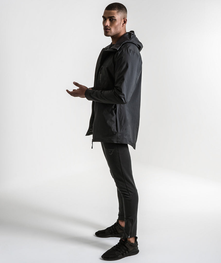 Gymshark Storm Waterproof Parka - Black 2