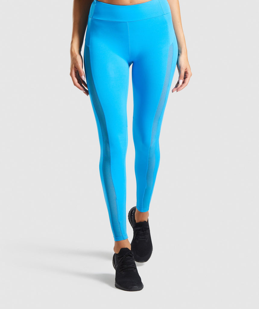 Gymshark Move Leggings - Blue 1
