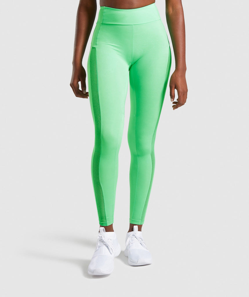Gymshark Move Leggings - Light Green 1