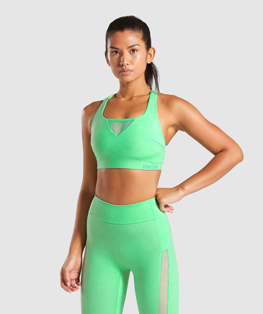 Gymshark Move Sports Bra - Light Green 1