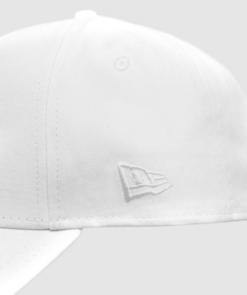 Gymshark New Era 9FORTY Adjustable - White 3