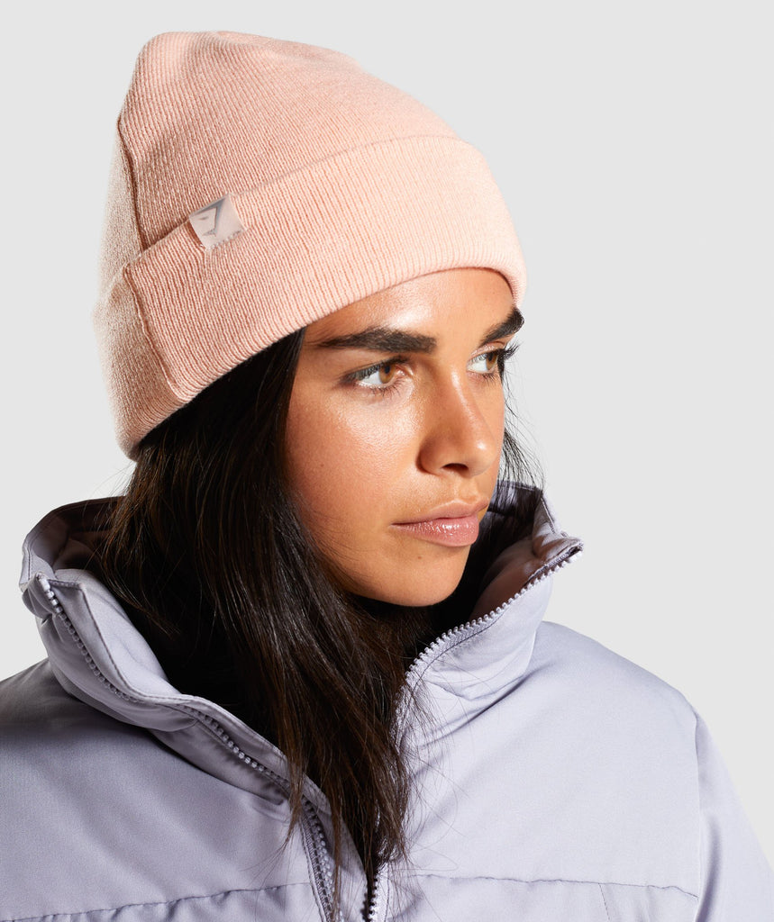 Gymshark New Era GS Cuff Knit - Pink Salt 1