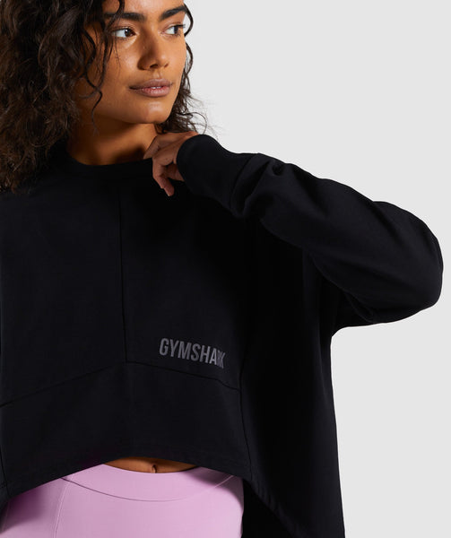 Gymshark Ori Sweater - Black 4