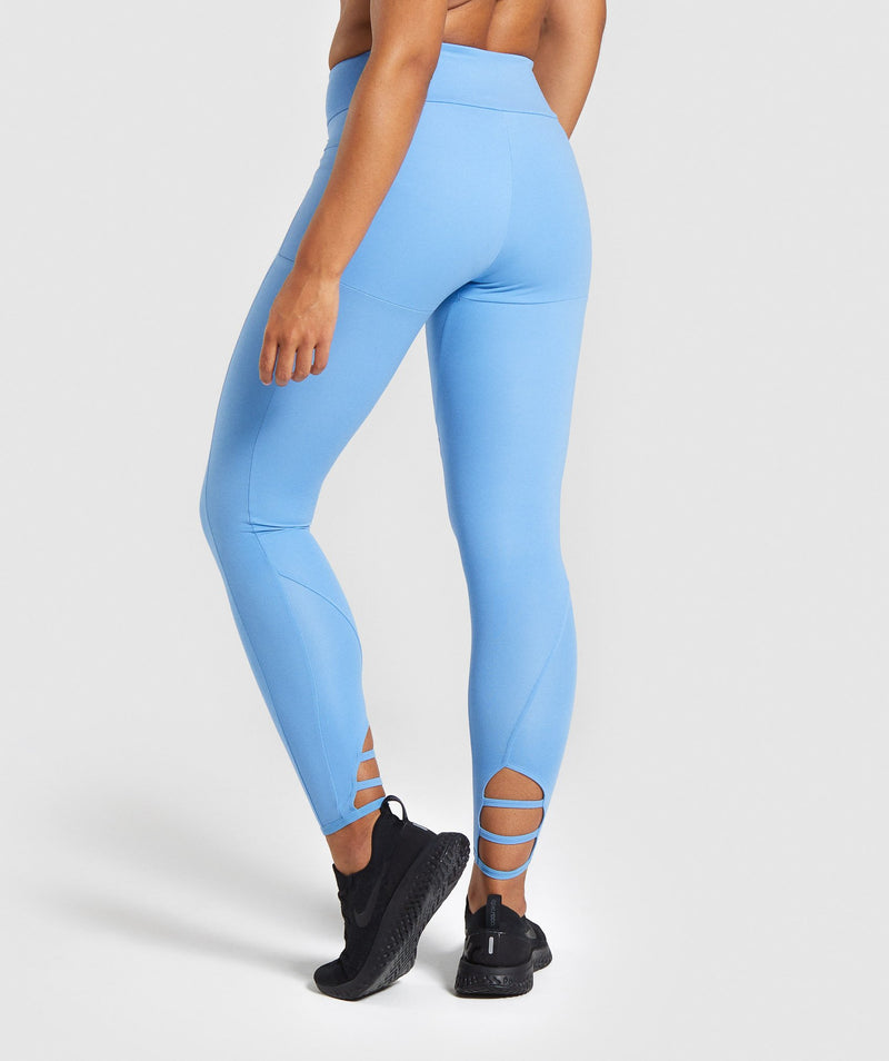 Gymshark Poise Leggings - Blue
