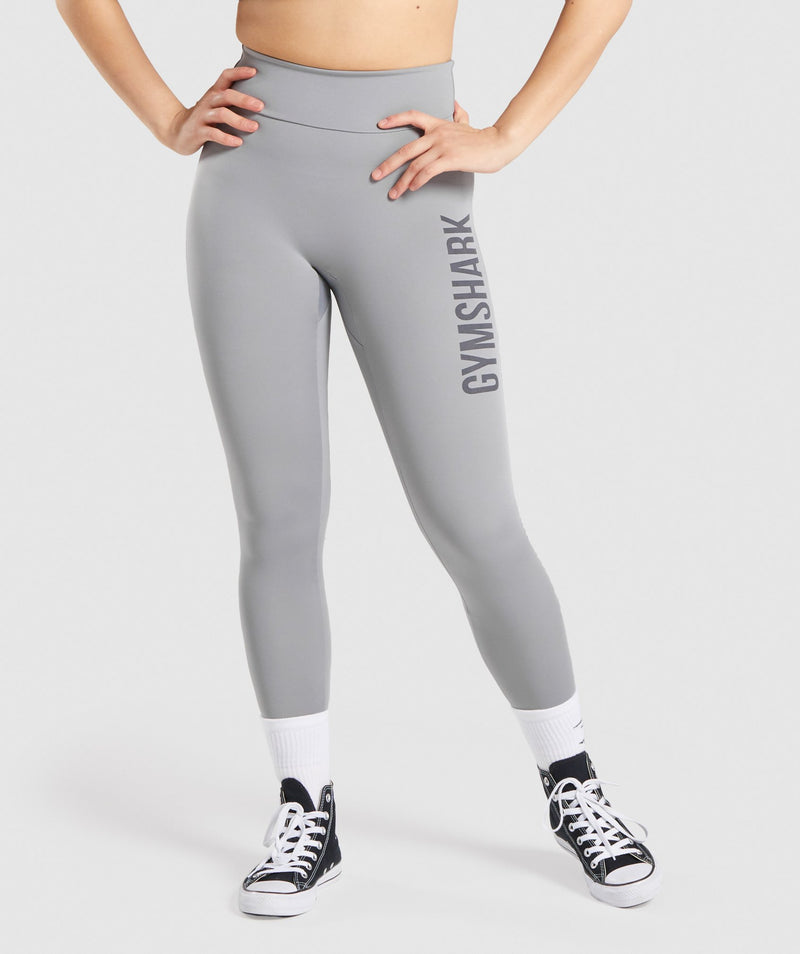 GS Power Leggings - Smokey Grey
