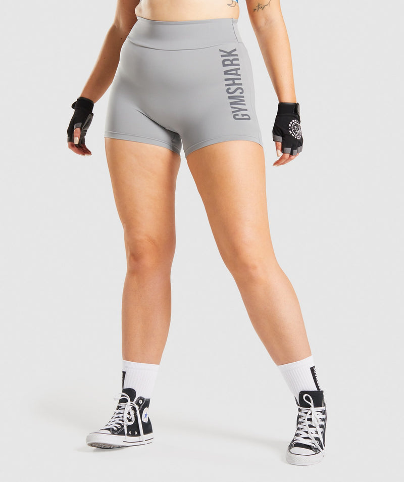 GS Power Shorts - Smokey Grey