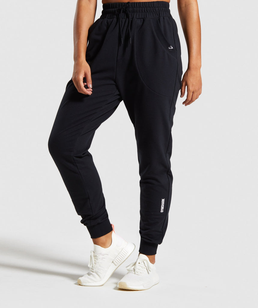 Gymshark Power Down Joggers - Black 1