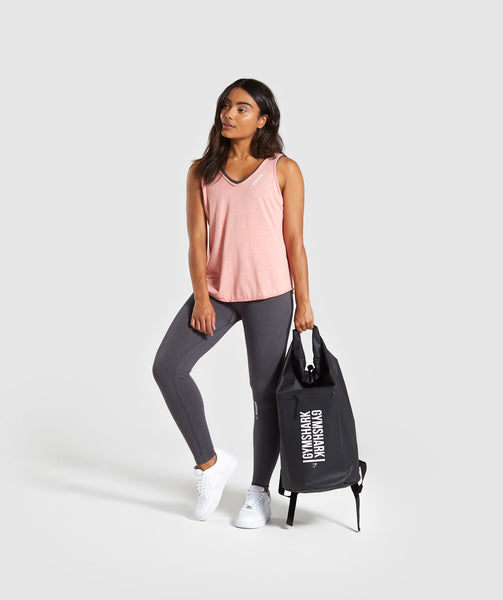 Gymshark Power Down Vest - Peach 3