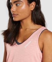 Gymshark Power Down Vest - Peach 11