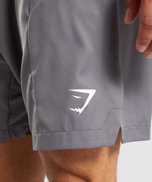 Gymshark Primary Shorts - Smokey Grey 4