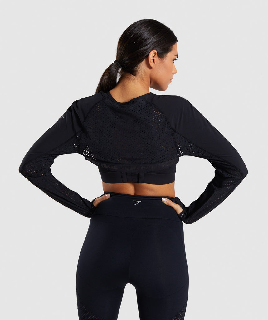 Gymshark Pro Perform Shrug - Black 2