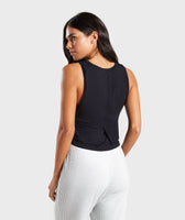 Gymshark Relaxed Crop Top - Black 8