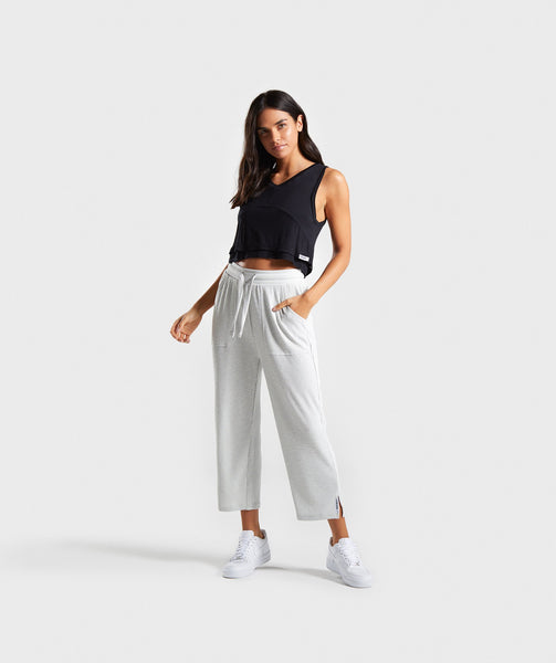 Gymshark Relaxed Crop Top - Black 2