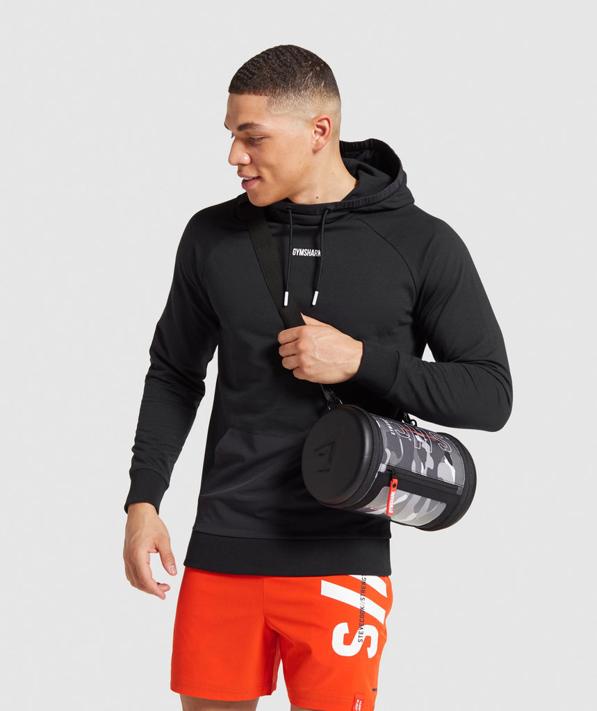 Gymshark Steve Cook Barrel Bag - Camo Print 1