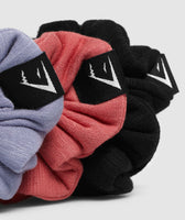 Gymshark Scrunchies (3PK) - Black/Red/Blue 6