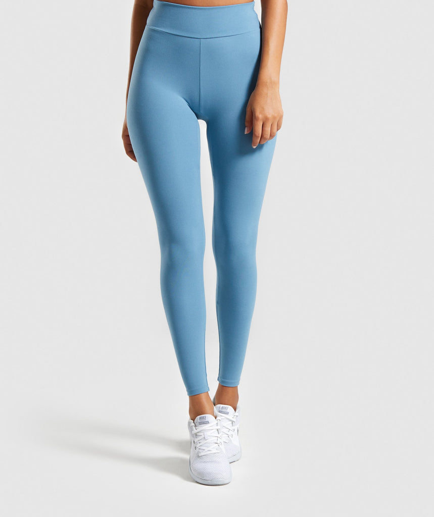 Gymshark Solo Leggings - Teal 1