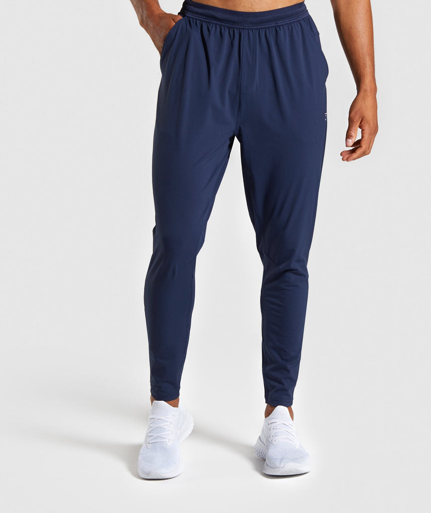 Gymshark Studio Pants - Blue 1