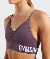 Gymshark Seamless Bralette - Purple Wash 11