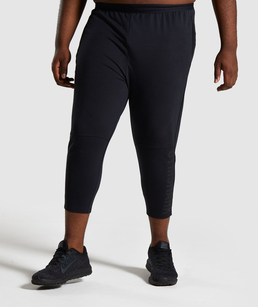 Gymshark Shadow 3/4 Joggers - Black 1