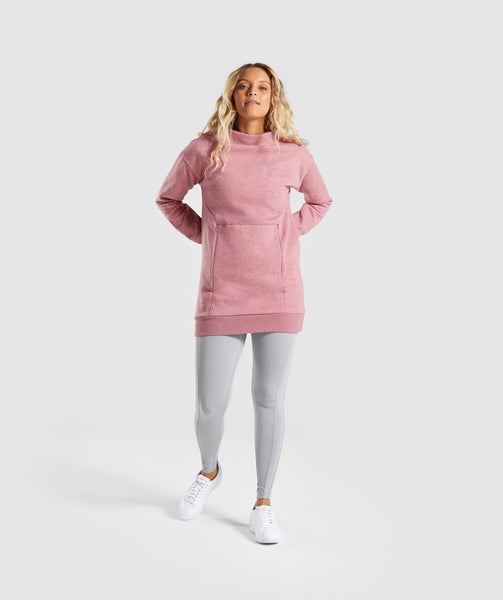 Gymshark So Soft Sweater - Dusky Pink Marl 4