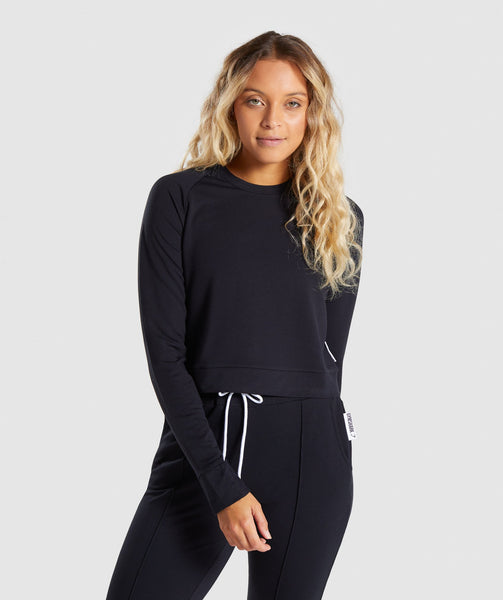 Gymshark Solace Sweater 2.0 - Black 2