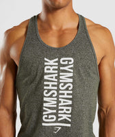 Gymshark Statement Stringer - Woodland Green Marl 11
