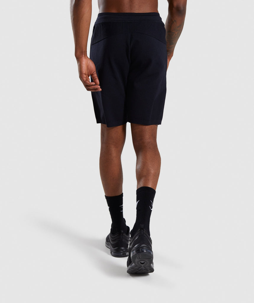 Gymshark True Knit Shorts - Black 2