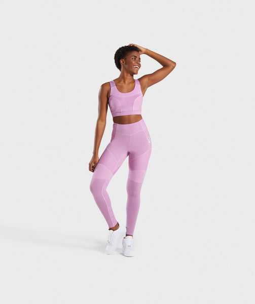 Gymshark True Texture Leggings - Pink 3