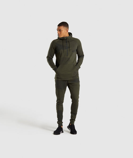 Gymshark Ultra Jacquard Joggers - Woodland Green 3