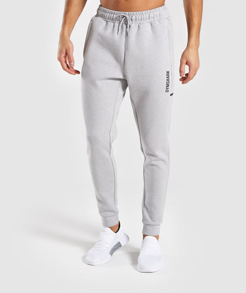 Gymshark Ultra Joggers - Light Grey Marl 2
