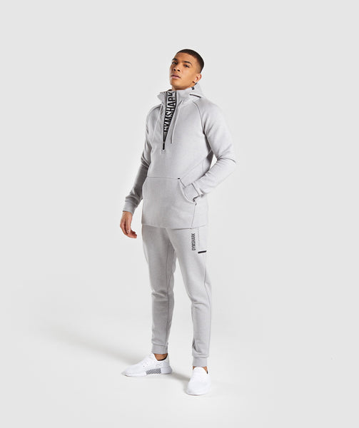 Gymshark Ultra Joggers - Light Grey Marl 3
