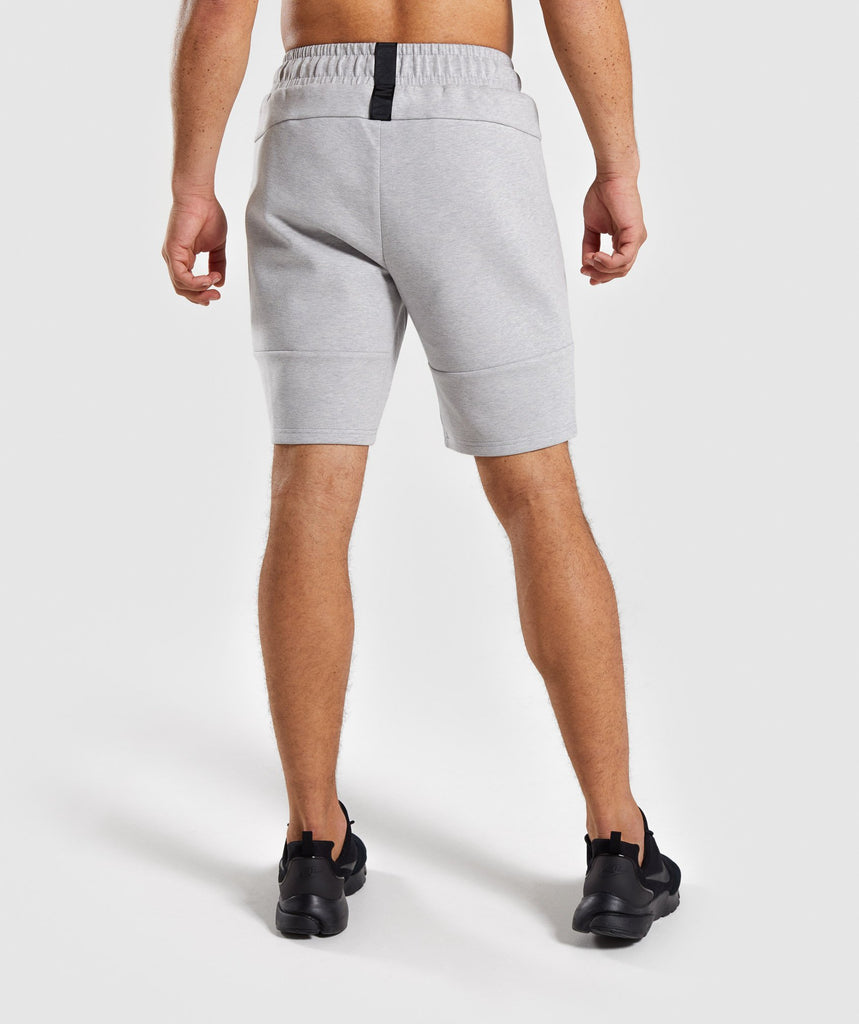 Gymshark Ultra Shorts - Light Grey Marl 2