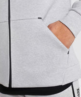 Gymshark Ultra Zip Hoodie - Light Grey Marl 12