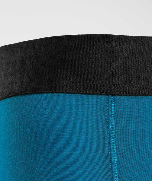 Gymshark Mens Hipsters 2pk - Deep Teal/Black 3