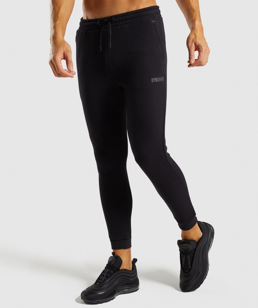 Gymshark Urban Bottoms - Black 1