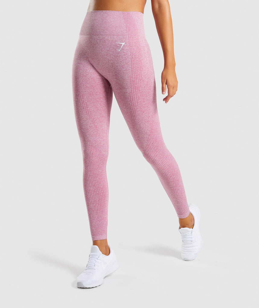 3c80f265f8a4f Vital Seamless Leggings | Dusky Pink Marl | Women's Leggings