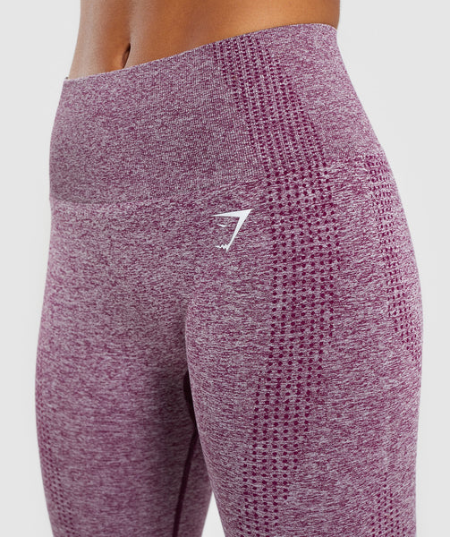 Gymshark Vital Seamless Leggings - Purple 4