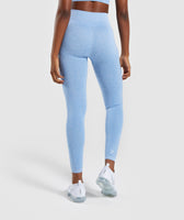 Gymshark Vital Seamless Leggings - Blue 8