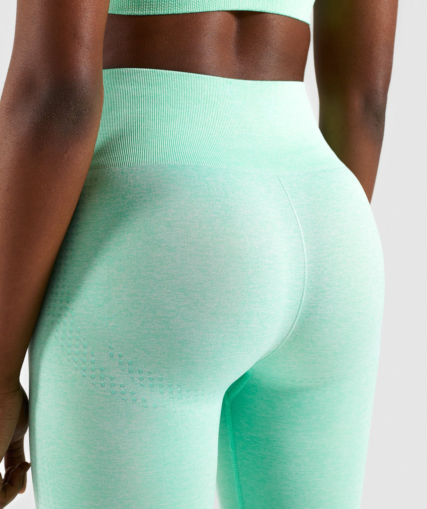 Gymshark Vital Seamless Leggings - Green 6