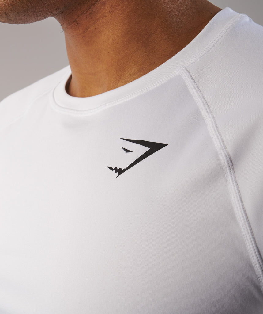 Gymshark Ability T-Shirt - White 5