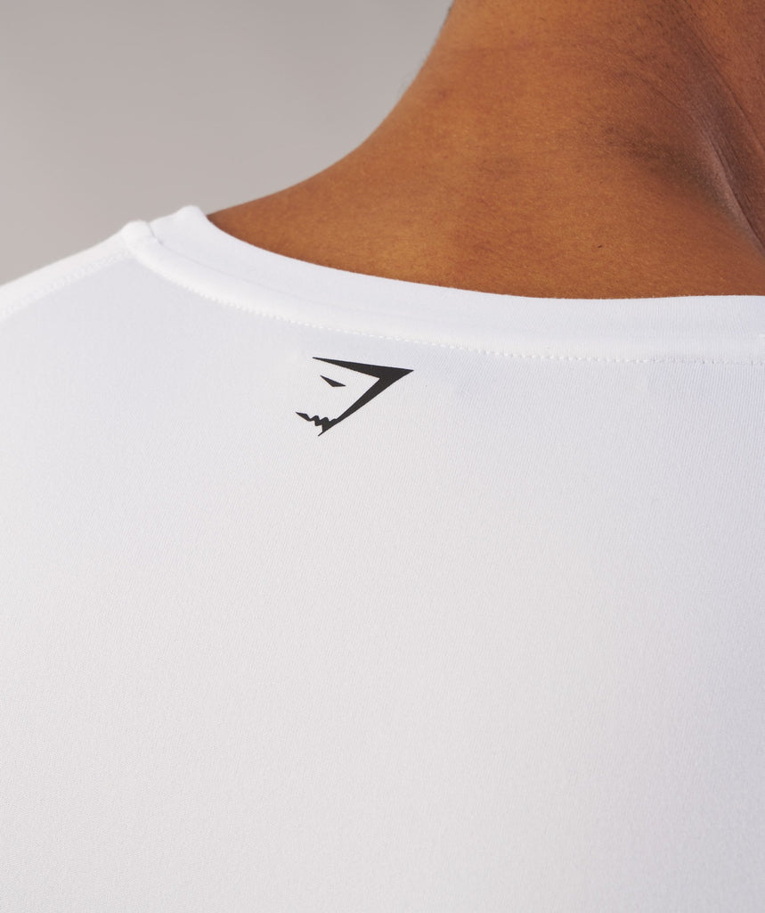 Gymshark Ability T-Shirt - White 6