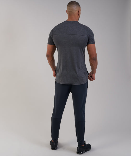 Gymshark Breathe T-Shirt - Black Marl 2