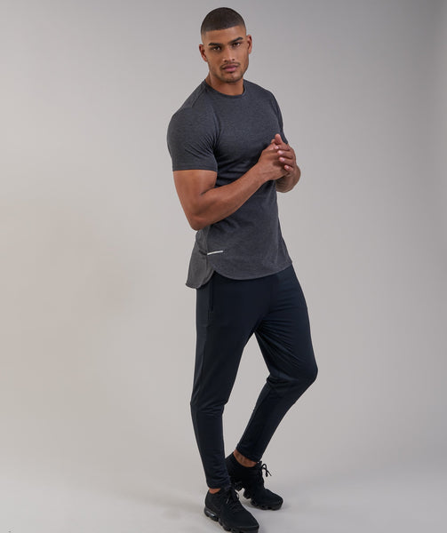 Gymshark Breathe T-Shirt - Black Marl 3