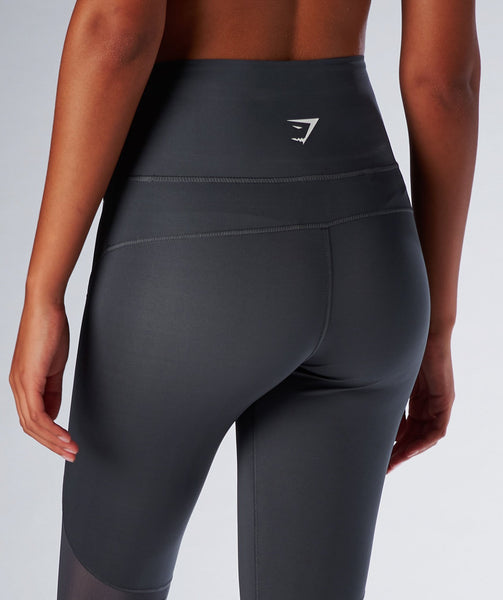Gymshark Fusion Leggings - Charcoal 3