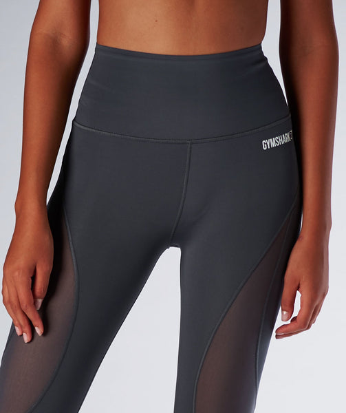 Gymshark Fusion Leggings - Charcoal 1